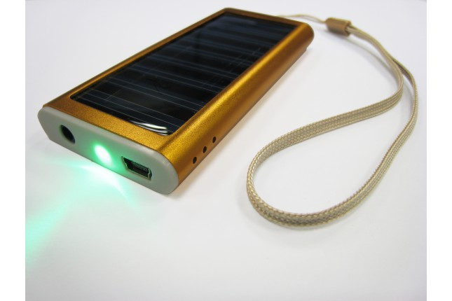 Chargeur solaire compact
